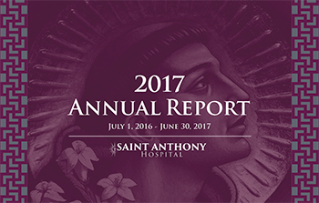 2017 Saint Anthony Hospital Annual Report